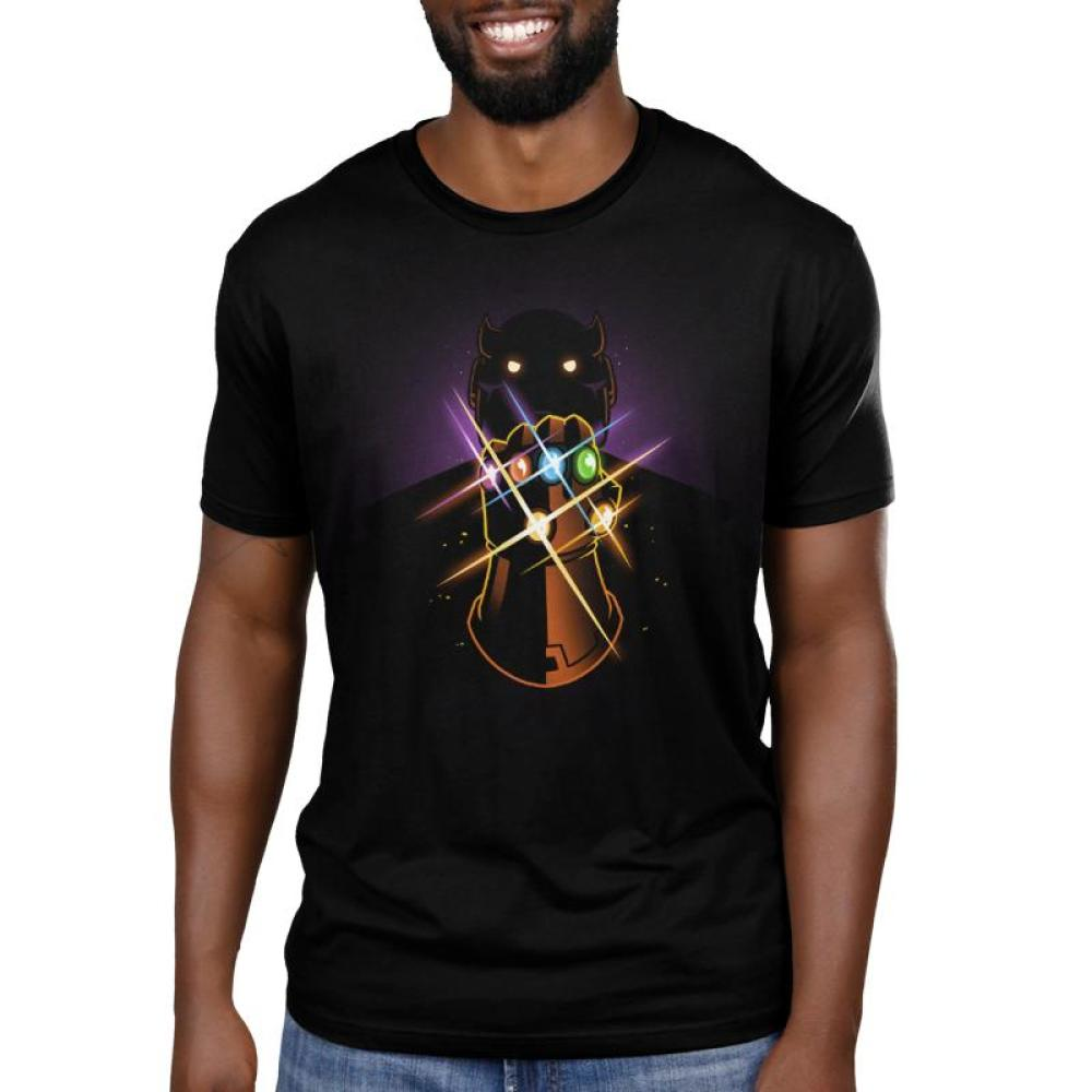 The Infinity Gauntlet Men's T-Shirt Model Marvel TeeTurtle