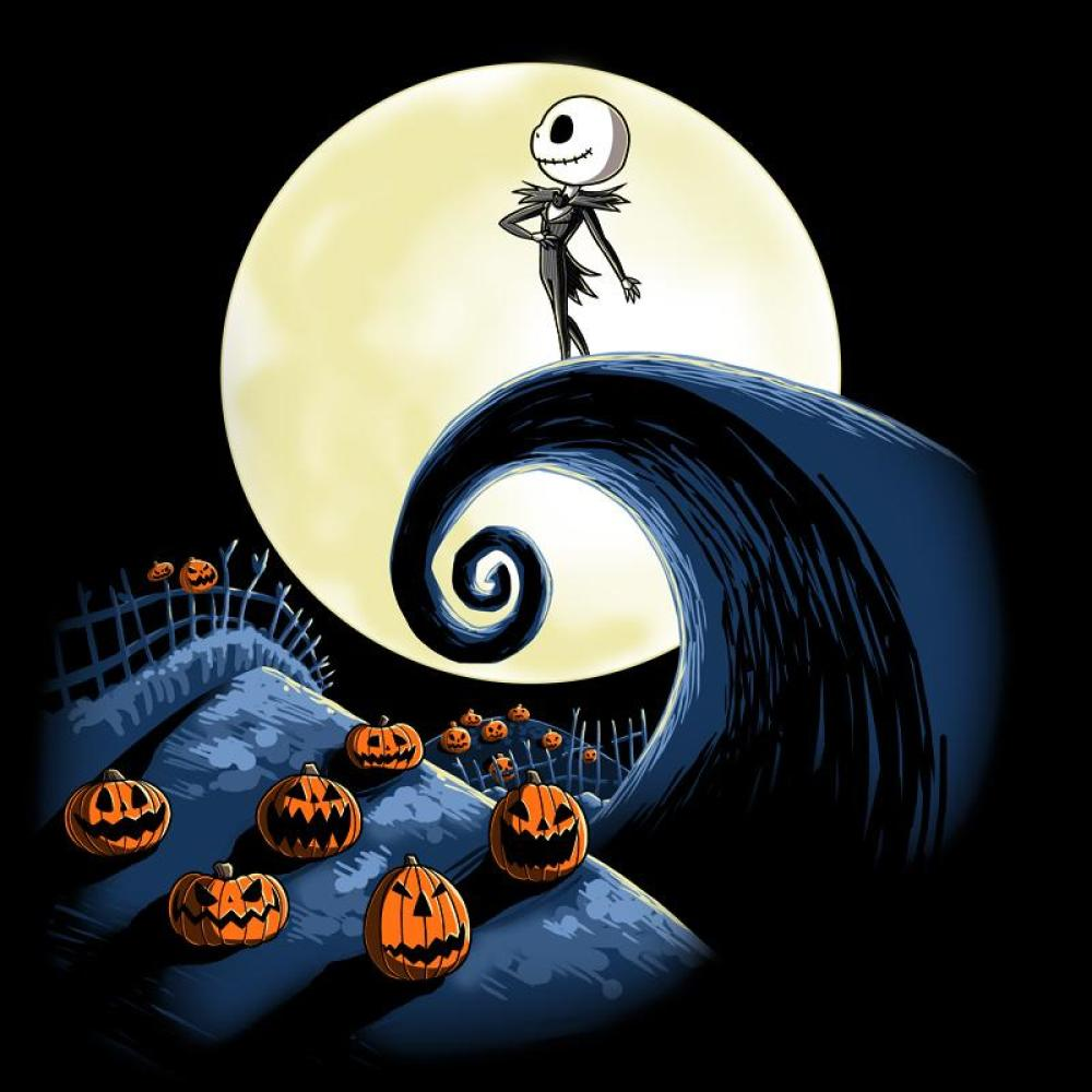 This is a graphic of Bewitching Nightmare Before Christmas Characters Pictures