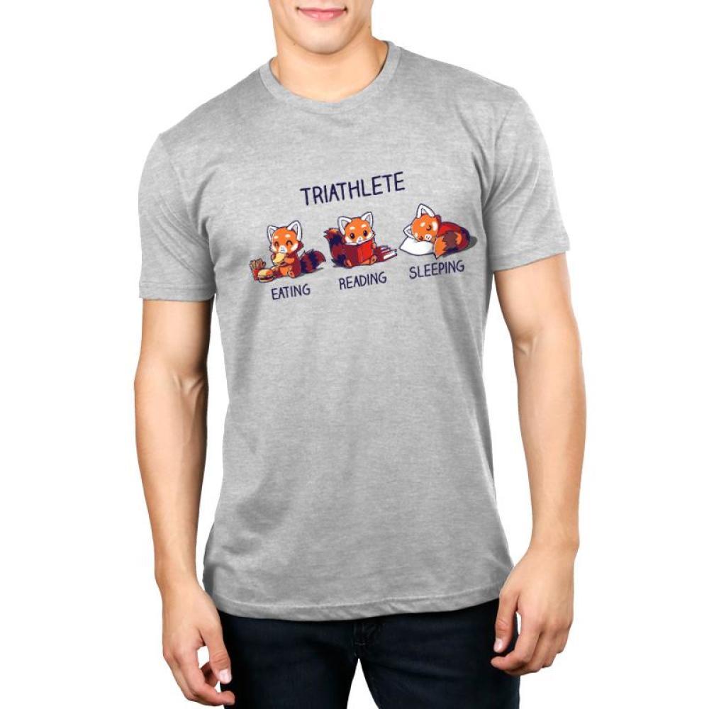 Triathlete (Reading) Men's T-Shirt Model TeeTurtle