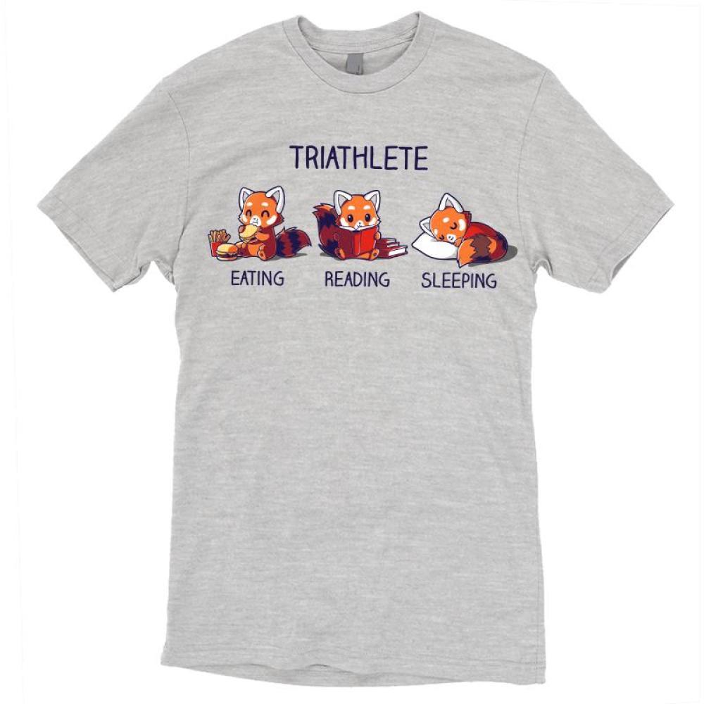 Triathlete (Reading) T-Shirt TeeTurtle