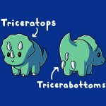 Triceratops T-Shirt TeeTurtle