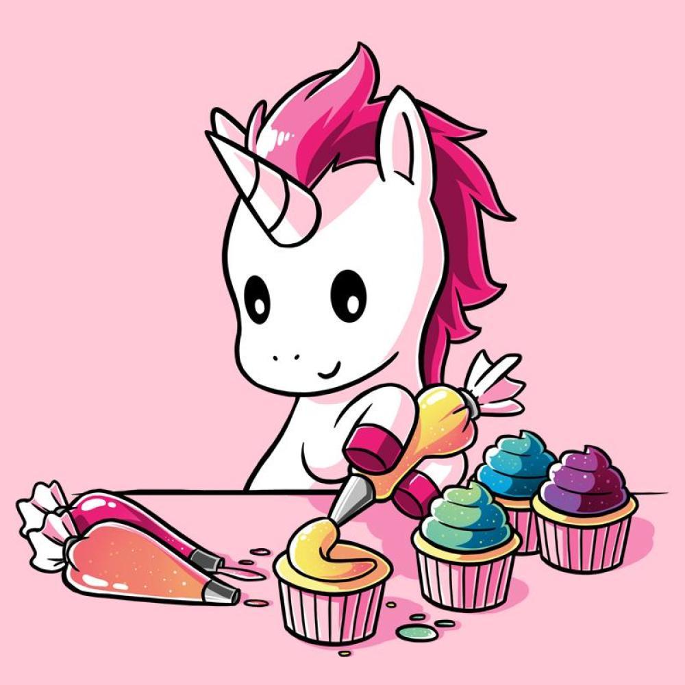 Rainbow Cupcakes T-Shirt TeeTurtle
