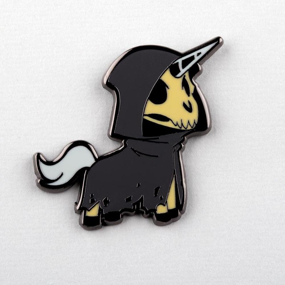 Unicorn of Death Charm Pin TeeTurtle