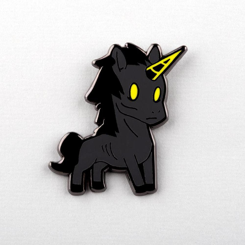 Unicorn of Famine Charm Pin TeeTurtle
