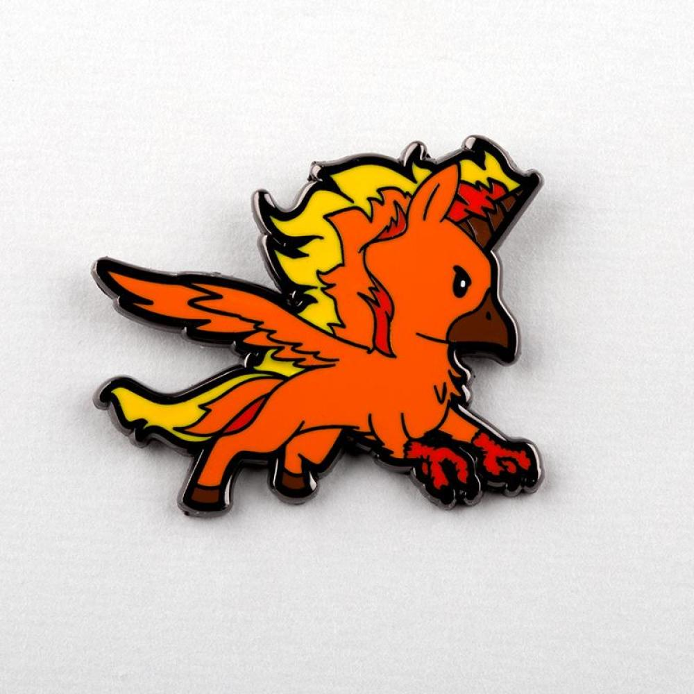 Unicorn Phoenix Charm Pin TeeTurtle