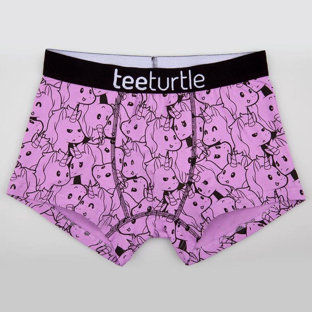 Crazy Unicorn Underwear TeeTurtle