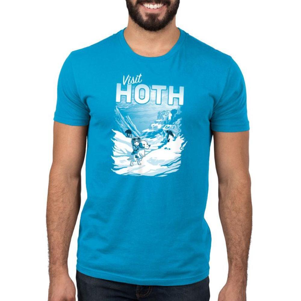Visit Hoth Standard T-Shirt Model Star Wars TeeTurtle