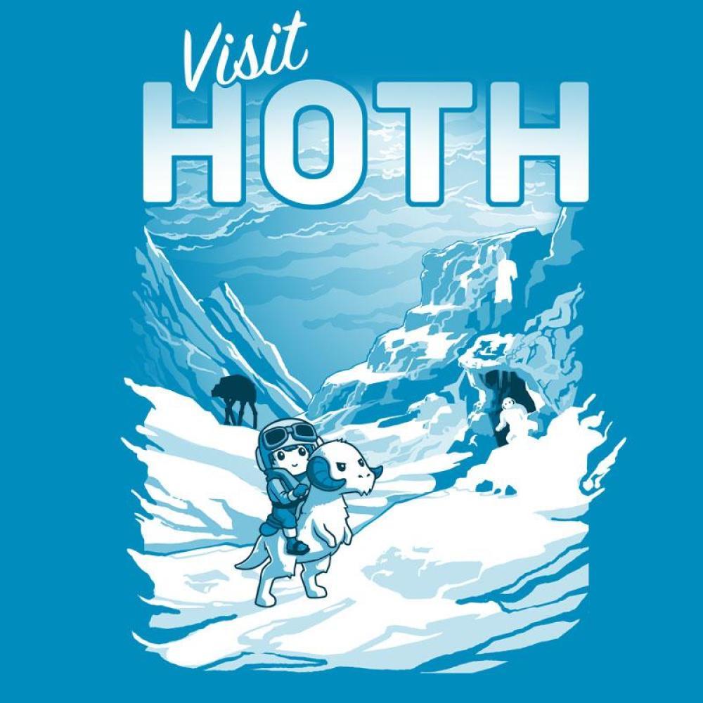 Visit Hoth T-Shirt Star Wars TeeTurtle
