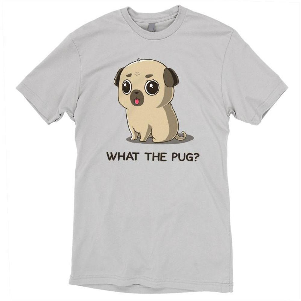 What the Pug? t-shirt TeeTurtle