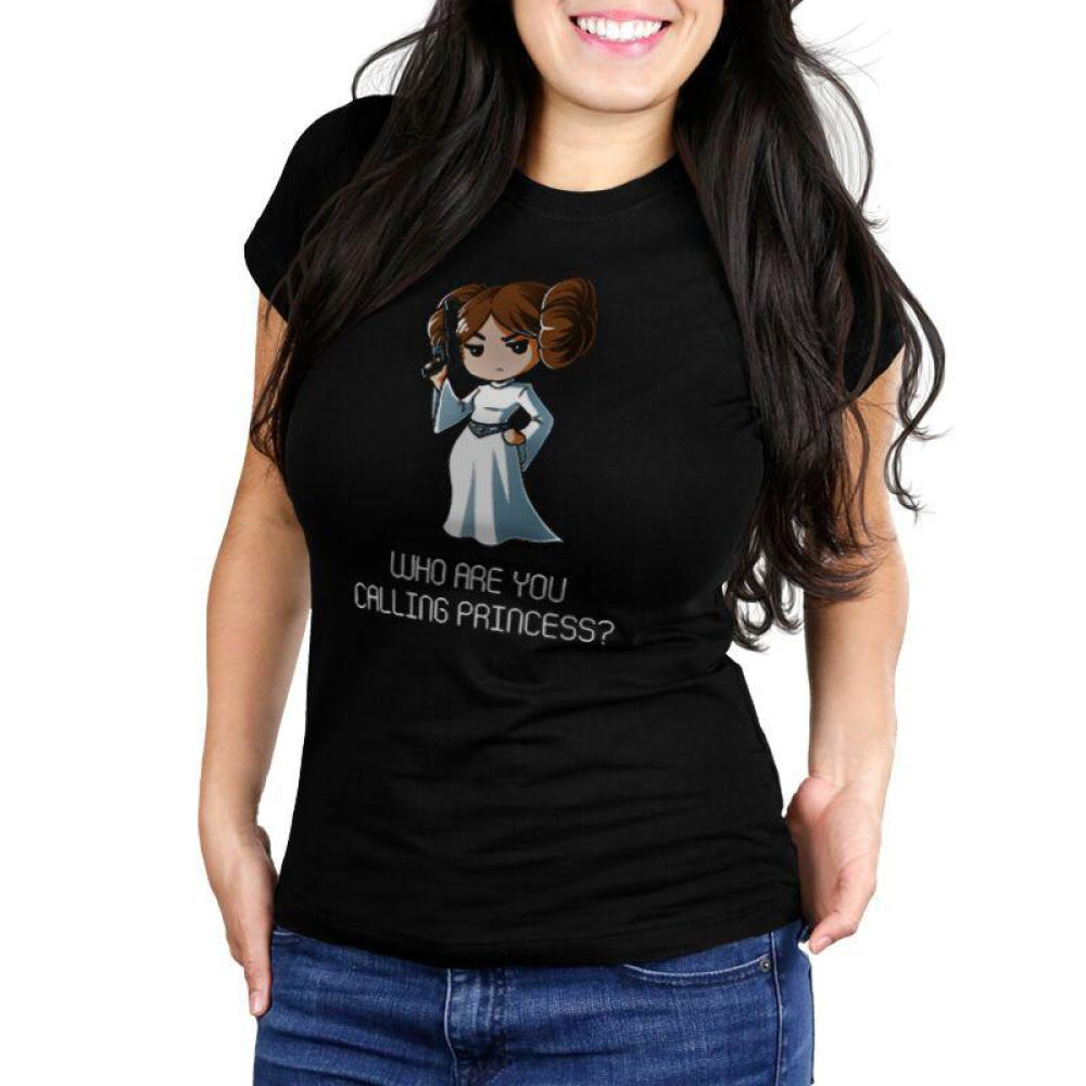 Who Are You Calling Princess? Juniors T-Shirt Model Star Wars TeeTurtle
