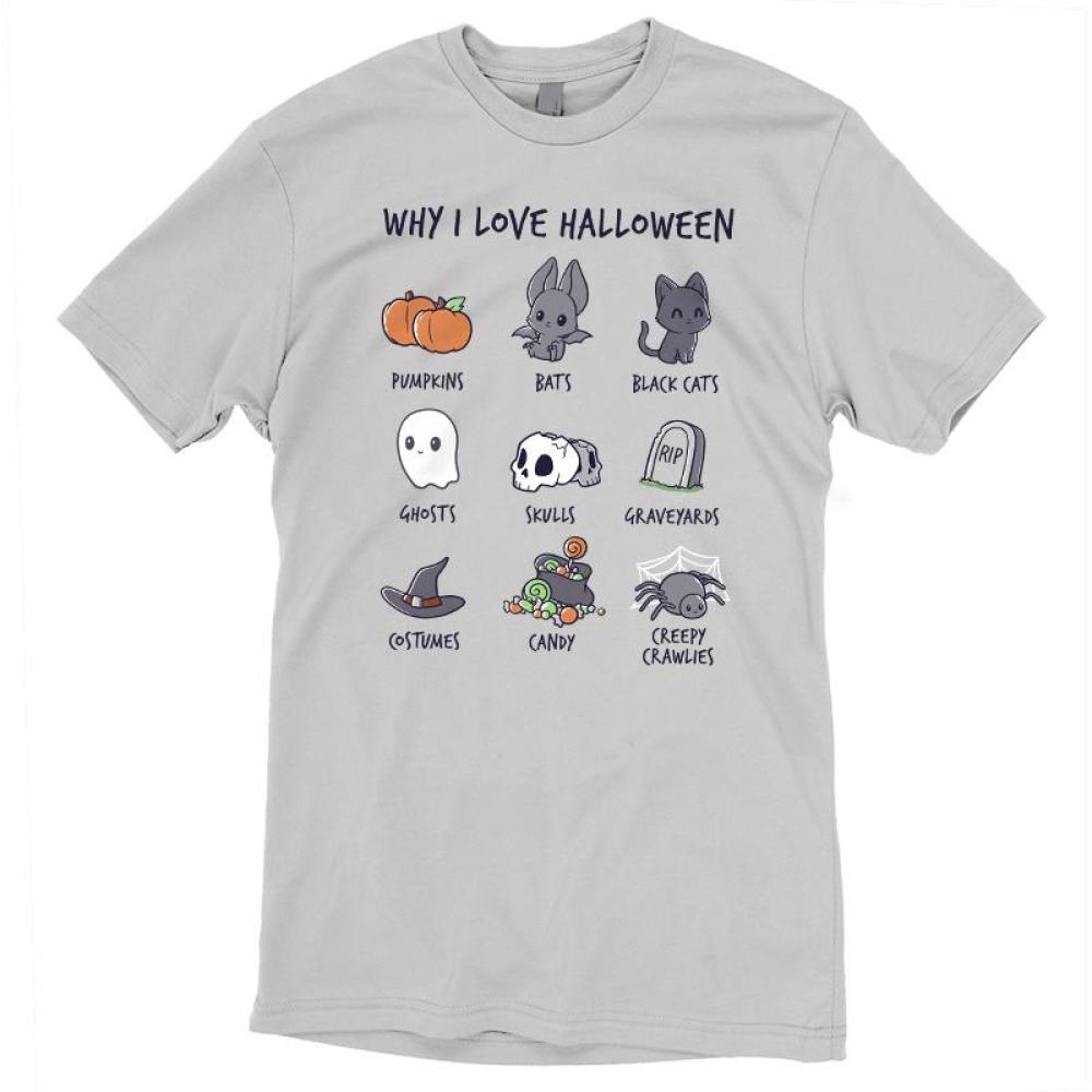 2b7afc7b Why I Love Halloween | Funny, cute & nerdy shirts - TeeTurtle