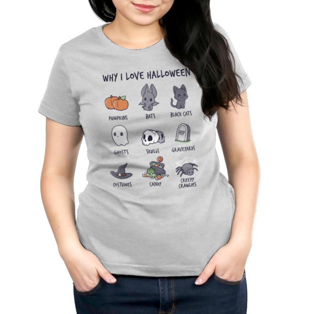 61b828791 Why I Love Halloween | Funny, cute & nerdy shirts - TeeTurtle