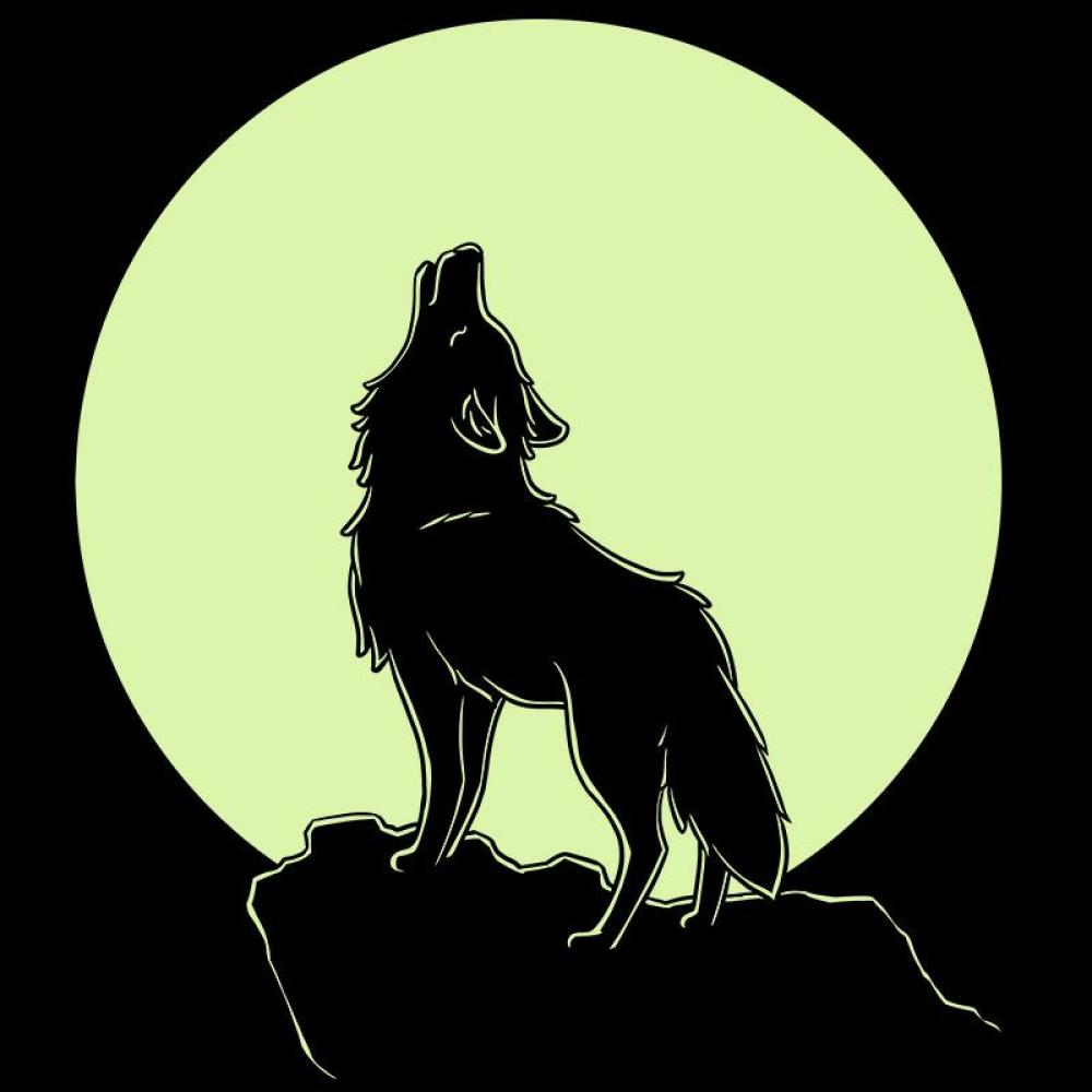 Howl At The Moon Glow T-Shirt TeeTurtle