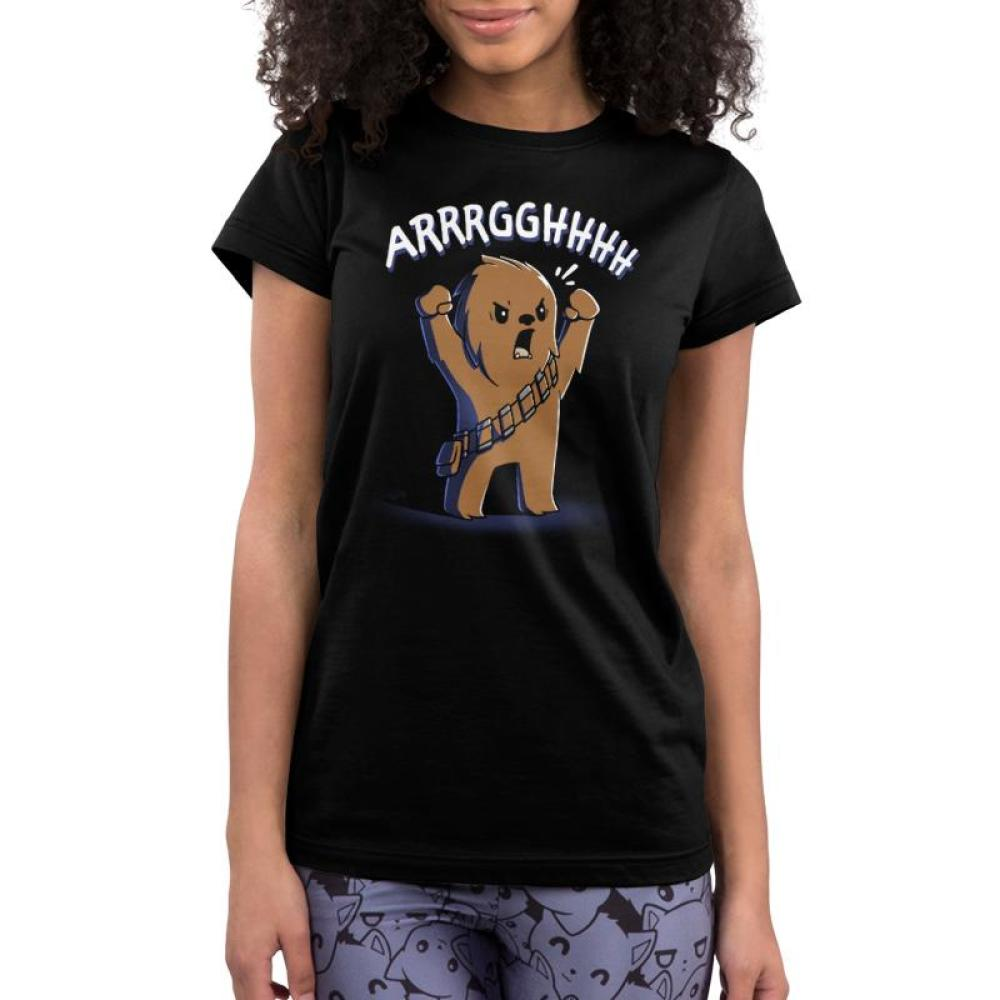 Wookiee Roar Juniors T-Shirt Model Star Wars TeeTurtle