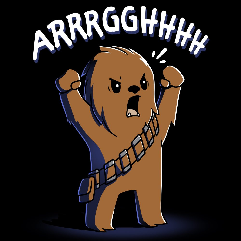 Wookiee Roar T-Shirt Star Wars TeeTurtle