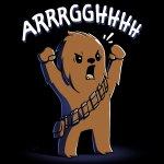 Wookiee Roar T-Shirt Star Wars TeeTurtle