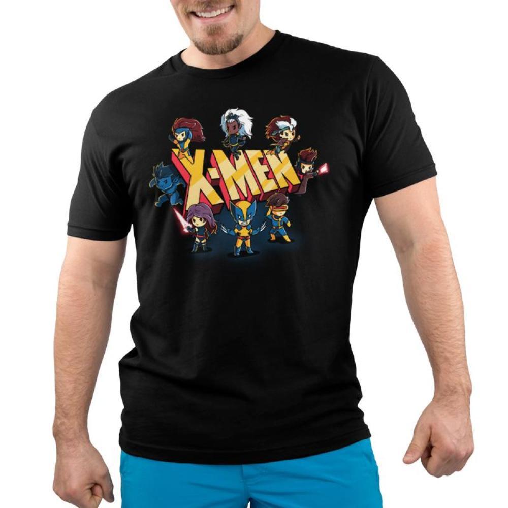 X-Men Shirt Men's T-Shirt Model TeeTurtle