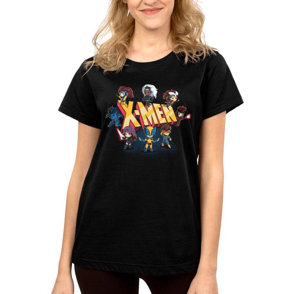 X-Men Shirt Women's T-Shirt Model TeeTurtle