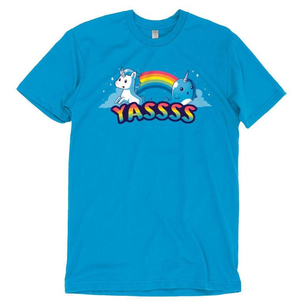 YASSSS! t-shirt TeeTurtle