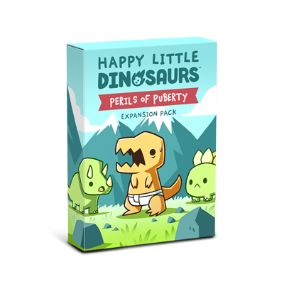 Happy Little Dinosaurs Expansion box