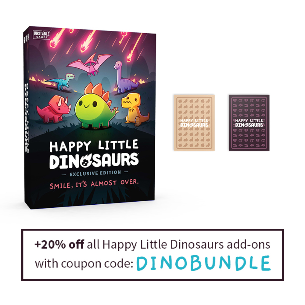 Happy Little Dinosaurs Exclusive Edition Coupon