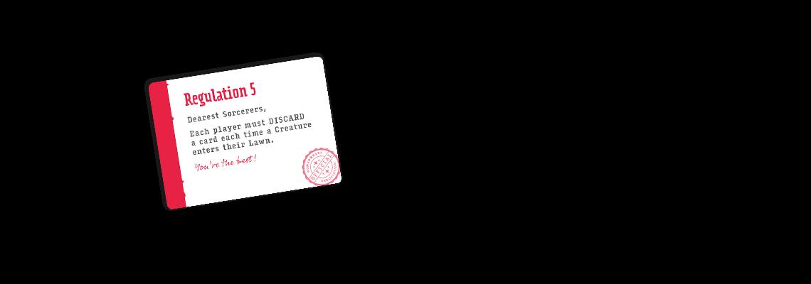 regulation cards