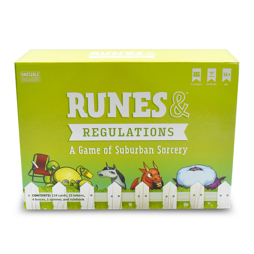 Runes & Regulations box