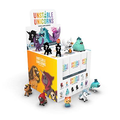 Unstable Unicorns Vinyl Series box