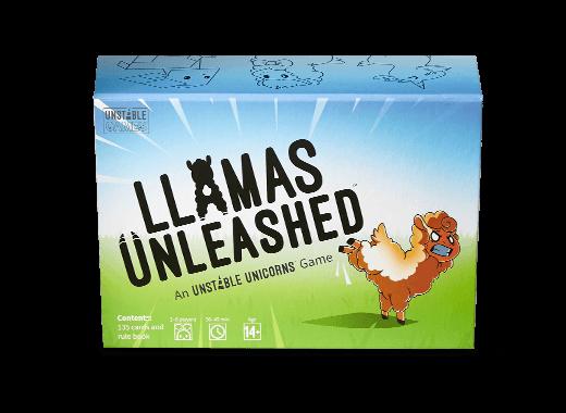 Llamas Unleashed box