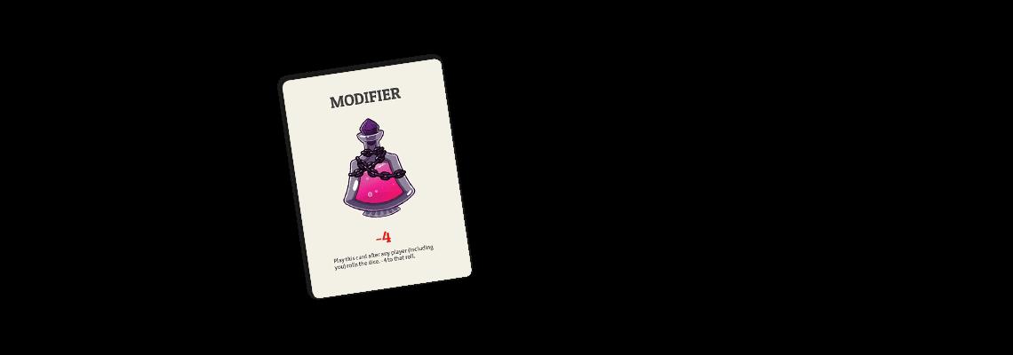 Modifier cards